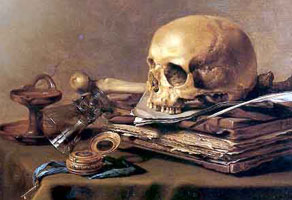 Pieter Claesz, Vanitas Still Life, 1630, Mauritshuis, The Hague.